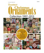 Just Cross Stitch Christmas Ornaments 1997-2013 Collection DVD magazine issues - $27.00