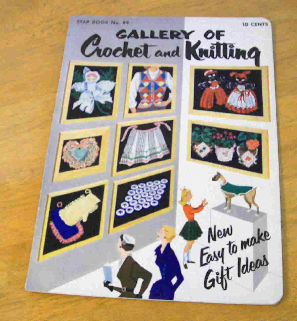 Vintage 1952 Gallery of Crochet and Knitting, Star Book