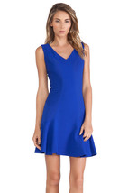New Womens 12 NWT Designer Dress Carla Diane Von Furstenberg Blue Star Sapphire - $224.10