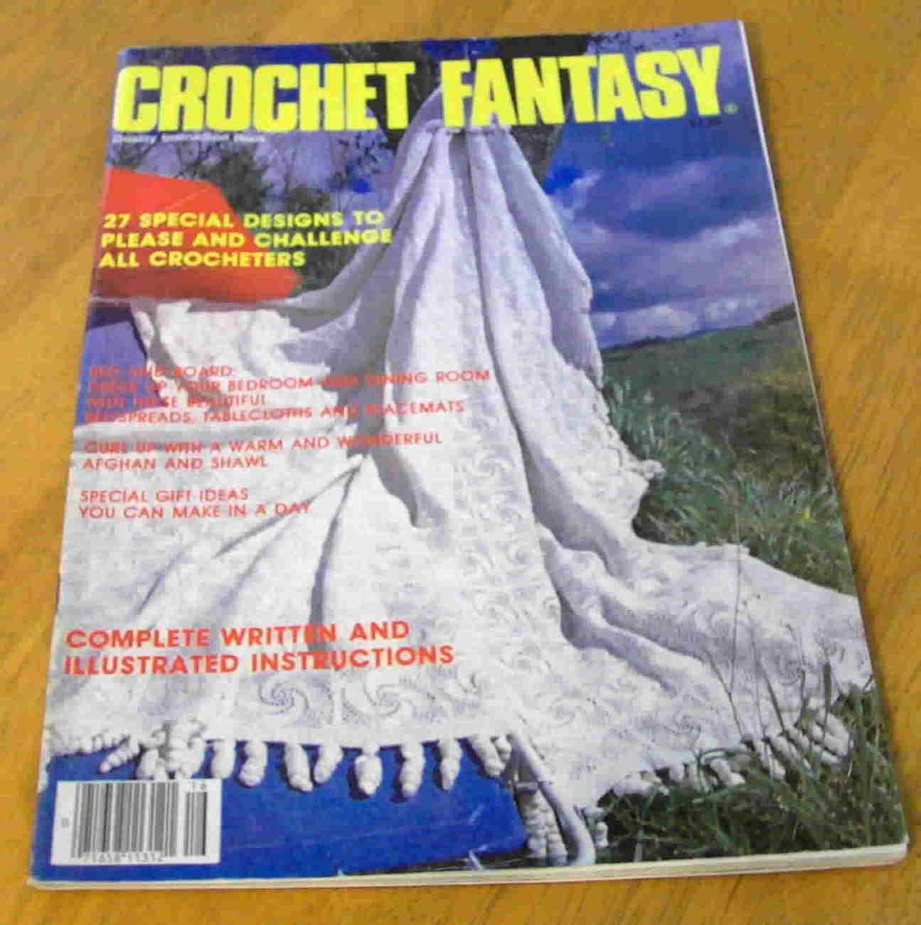 Crochet Fantasy, December 1984, Number 16