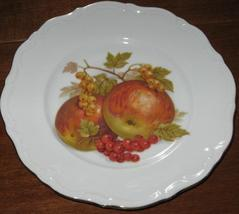 Winterling Roslau Dessert Plate -Apples & Red Currents- Bavaria - $9.50