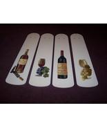 CUSTOM DESIGNED HANDCRAFTED Wine Bottle Grapes & Glasses Elegant Ceiling... - $99.99