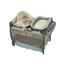 Play Pack N Graco Playard Bassinet Changer  Napper Travel Rocking Seat B... - $202.94