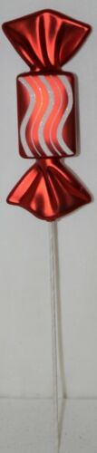Christmas Shoppe 5890751 8 inch Plastic Wrapped Candy Pick