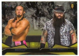 2016 Topps WWE Then, Now, Forever Rivalries NXT #18 Bray Wyatt vs. Nevil... - $0.99