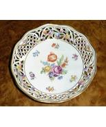 CHATEAU Dresden Flowers Schumann Germany Pierce... - $144.95