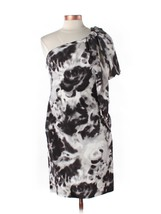 Anne Klein Asymmetric Silk Cocktail Evening Dress One shoulder NWT 6 M B... - $45.00