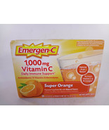 Emergen-C 1,000 MG Vitamin C Super Orange 30 - 0.32 fl oz Packets {VS-E} - $14.03
