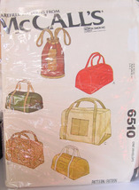 Pattern 6510 Variety of Totes and Duffle Bags - $5.00