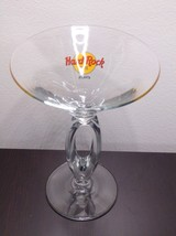 Hard Rock Cafe Atlanta Split Stem Martini Glass - $17.99