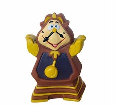 Walt Disney toy figure Beauty Beast hand puppet vtg figurine Belle Cogsworth  - $23.17