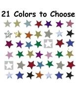 """Confetti Star 1/4"""" - 21 Colors to Choose - $1.81 per 1/2 oz. FREE SHIP - $3.95+"""