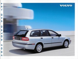 2002 Volvo V40 sales brochure catalog US Canada 02 1.9T - $8.00