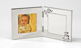 Engraved,  Hinged Baby  Picture  Photo Frame Custom Personalized - $26.95