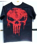 Marvel Blood Red Punisher Logo Medium Size T-Shirt Brand New 100 % Cotton - $14.95
