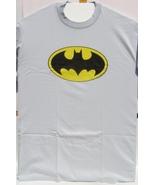 DC Classic Batman Logo Large Size T-Shirt Brand New 100 % Cotton Preshrunk - $29.95