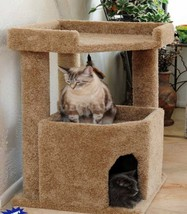Corner Roost Cat Condo   Free Shipping In The U.S. 5 Colors To Choose From - $105.95