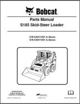 Bobcat S185 Skid Steer Loader Parts Manual CD  -  S 185  S-185 - $12.00
