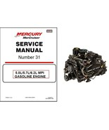 MerCruiser #31 5.0L / 5.7L / 6.2L MPI Engine Service Repair Manual CD - ... - $12.00