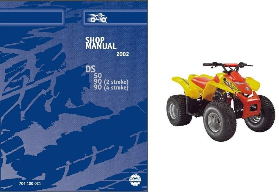 can am ds50 ds90 atv service repair manual and 50 similar items 57