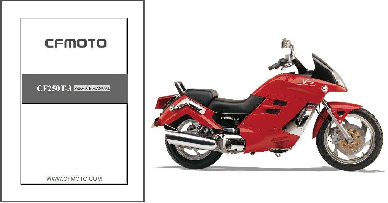 57. 57. 2005-2011 CFMoto V3 CF250T-3 Service Repair Manual ...