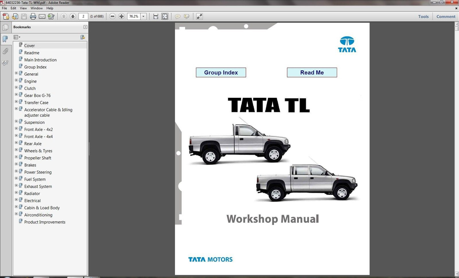 Tata motors workshop manual