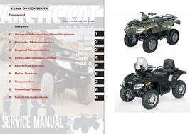 2008 Arctic Cat ATV Service Repair Manual CD  ---   ArcticCat 400 500 65... - $12.00