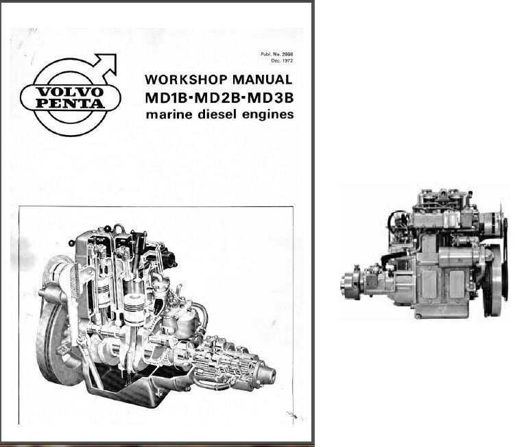 volvo penta md1b md2b md3b engine marine and 50 similar items