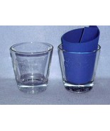 Crown Royal Black 2 Old Fashioned Rocks Glasses Raised Lettering Inside - $7.99