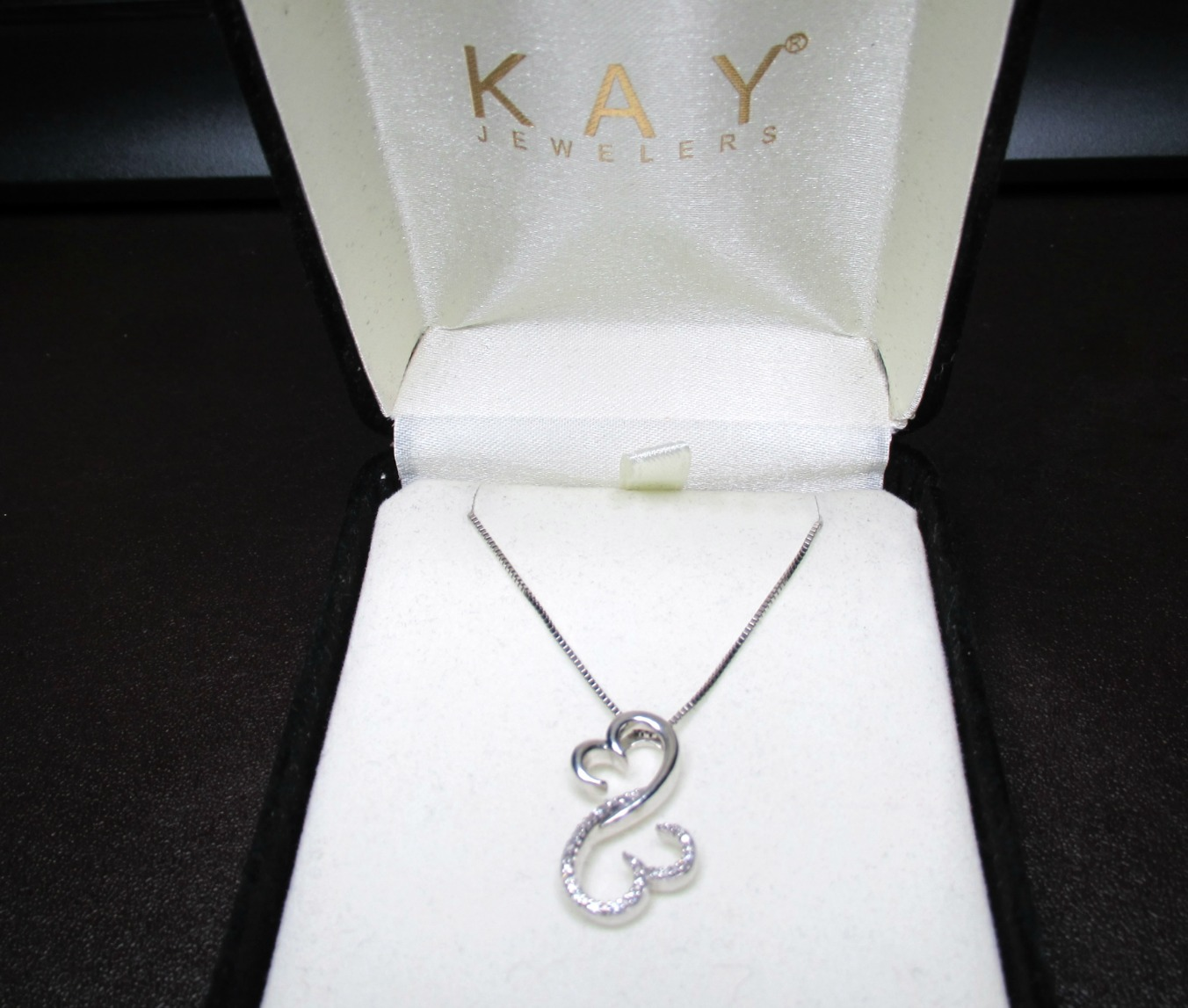 Jane Seymour Open Heart Diamond Necklace and 50 similar items