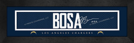 Joey Bosa Los Angeles Chargers 8x24 Player Signature Stitched Jersey Print - $39.95