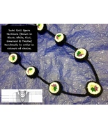 Handmade To Order - Sushi Roll Opera Necklace - $60.44