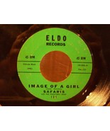 IMAGE OF A GIRL by THE SAFARIS on ELDO RECORD LABEL RARE 45RPM - $4.00