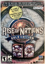 Rise of Nations: Gold Edition (PC, 2004) Great gift for a gamer!  New SE... - $4.99