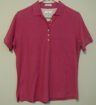 Womens Outer Banks NWOT Pink Short Sleeve Polo Shirt Size Medium - $12.95