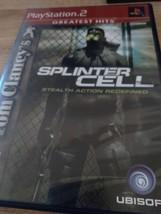 Sony PS2 Tom Clancy's Splinter Cell image 1