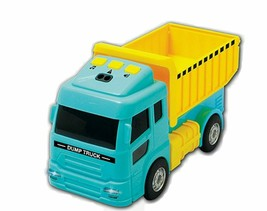 Zeus Toys Motion Sensor Melody Light Dump Truck Car Vehicle Toy image 1