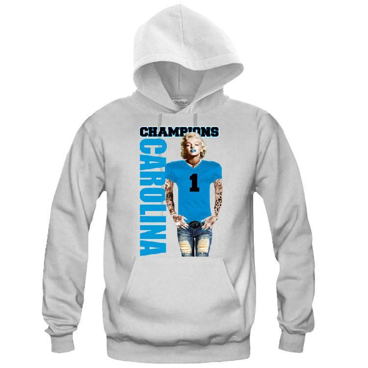 Marilyn Monroe Champions Panthers Hoodie Sports Clothing