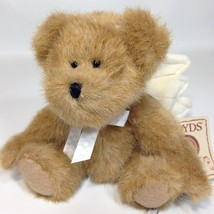 "Boyds Bears AngelBear Plush Brown Teddy HB Heirloom 2007 Angel Wings Mini 5.5"" - $18.95"