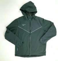 Nike Storm-FIt Water Resistant 2.5 Rain Jacket Full Zip Men's S M Grey 7... - $88.39