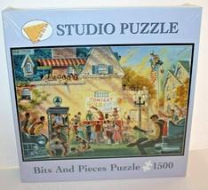 Bits And Pieces Puzzle Studio Puzzle 1500 Pieces College Fun 03-0648 NEW - $12.16