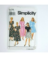 Simplicity 8178 SewingPattern Misses Petite Dress 18-22 Prom Formal Even... - $9.89