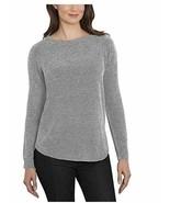 Ellen Tracy Women's Scoop Neck Super Soft Chenille Tweed Sweater Sz XL 2XL - $15.79