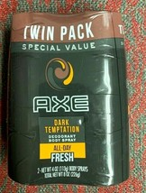 AXE Dark Temptation Deodorant Body Spray Twin Pack - 4 oz (113 g) ea. - $12.99