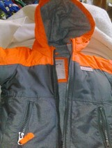 Carter's Adventure Wear Toddler Boys Winter Coat Size 2T Used - $16.83