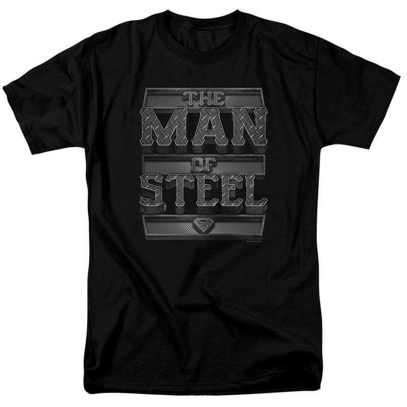 Superman T-shirt The Man of Steel Superhero DC graphic tee SM1924
