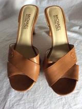 Michael Kors Women's Tan Heels Size 7 M - $49.49