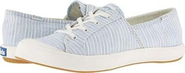Keds Women's Sandy Stripe Sneaker (6 M US|Light Blue) - $62.56