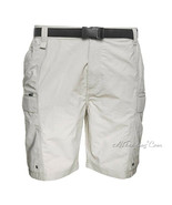 NWT Coleman Outdoor Men Hiking Cargo Shorts+Belt+quick Dry Inclement Weather $65 - $34.99