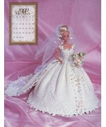 Miss March 1999 Bridal Dreams Outfit fits Barbie Doll Annie's Pattern Bo... - $7.62